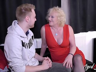 Xbabe blonde british granny