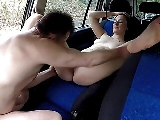 Xbabe whores ass licking car