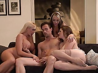 Xbabe blowjob cumshot group sex
